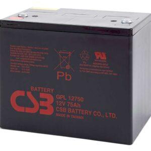 Аккумуляторные батареи (АКБ) CSB Серия GPL